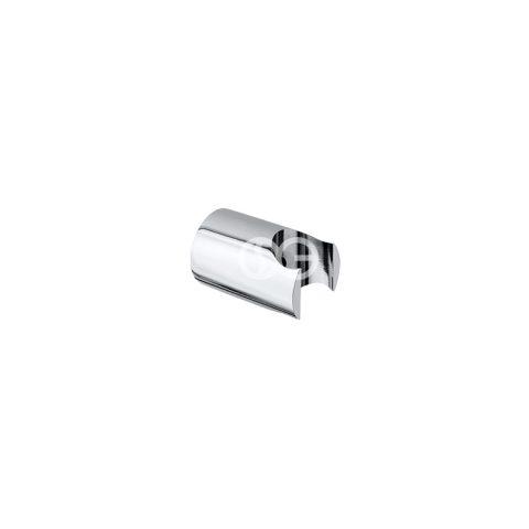 SG303R - Supporto doccia Minimal ROUND in ottone cromato.