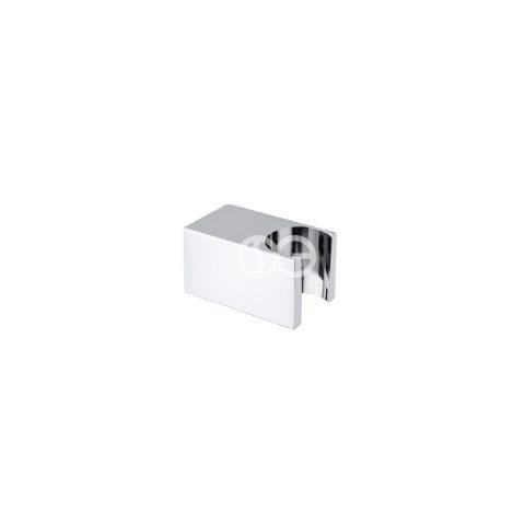 SG403S - Supporto doccia Minimal SQUARE in ottone cromato.