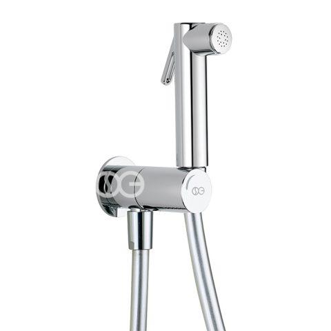 SG460 - Kit completo di doccia DOUBLE con speciale dispositivo anti-svitamento del vitone (antivandalo).