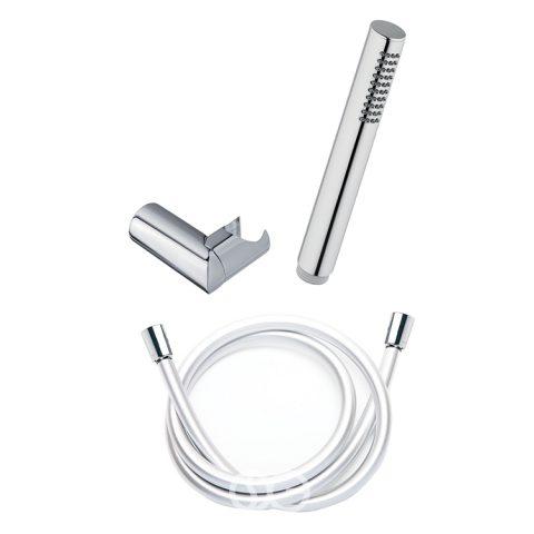 SG500 - Kit supporto doccia regolabile ROUND con doccetta CAMI