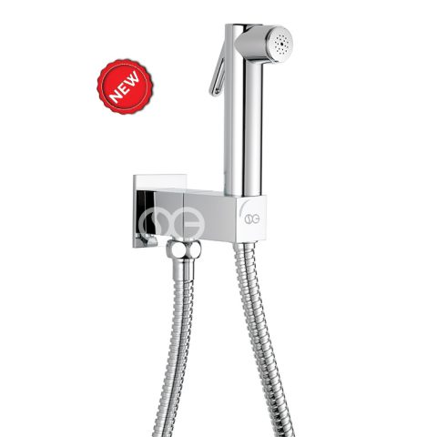 SG531 - Kit completo di doccia DUAL SQUARE con speciale dispositivo anti-svitamento del vitone ceramico (antivandalo)