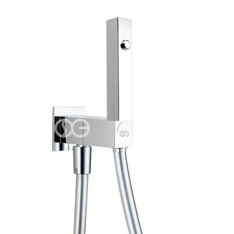 SG590 - Kit completo di doccia AXIS con speciale dispositivo anti-svitamento del vitone (antivandalo).